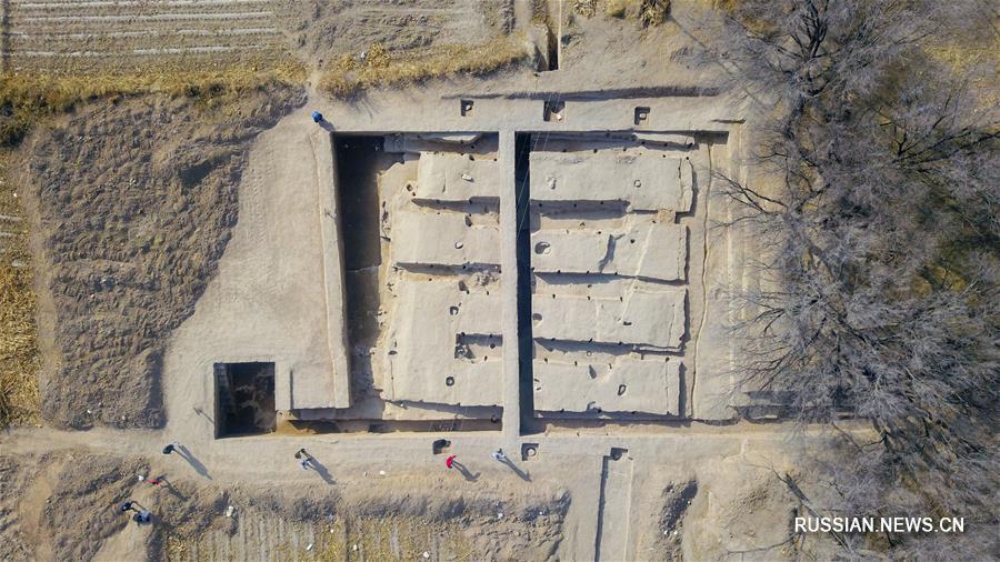 Во Внутренней Монголии обнаружили руины 2000-летнего зернохранилища