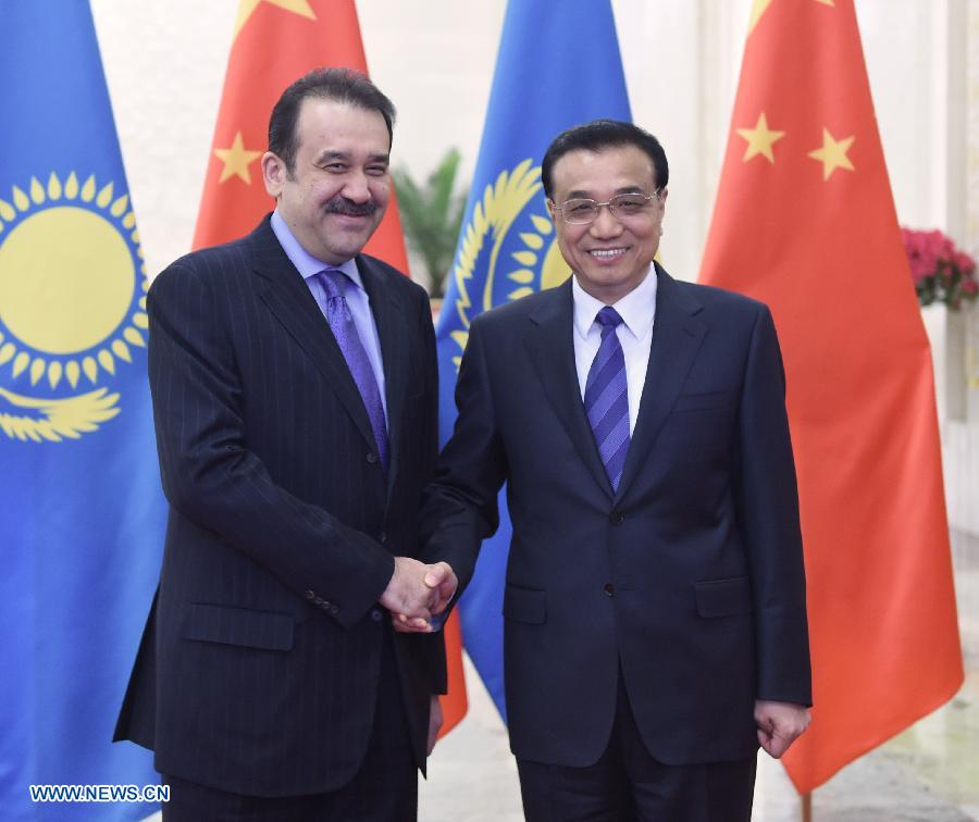 Ли Кэцян провел переговоры с премьер-министром Казахстана