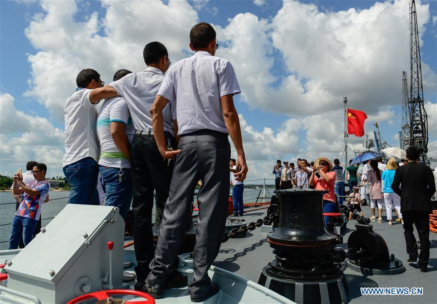 22-я конвойная флотилия ВМС Китая начала дружественный визит в Танзанию