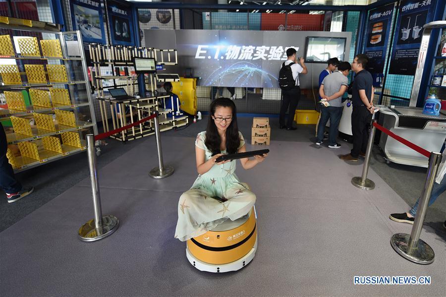 Глобальный саммит интеллектуальной логистики в Ханчжоу