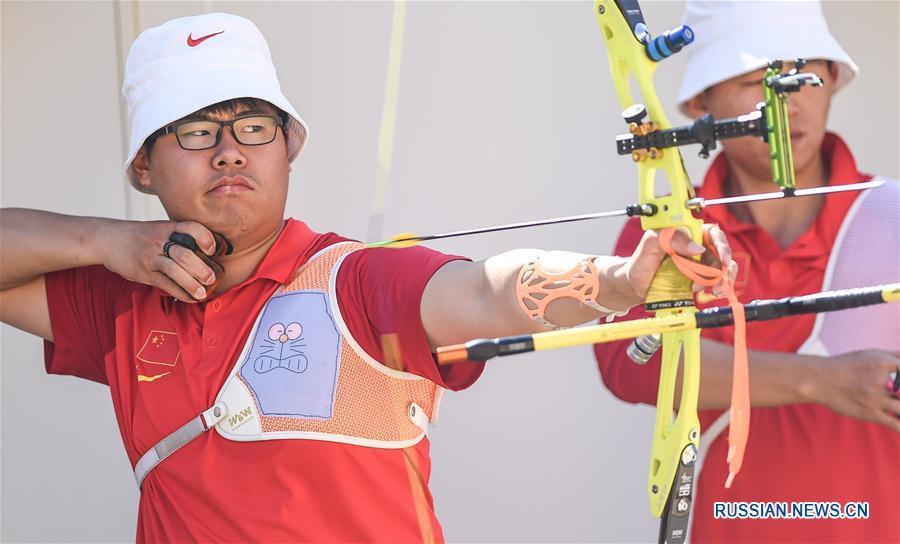 """(里约奥运会)(1)中国队""""箭指""""里约桑巴大道"""