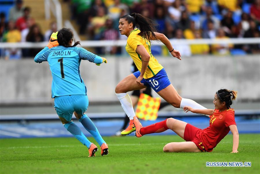 /Олимпиада Рио-де-Жанейро/ Бразильянки обыграли команду Китая