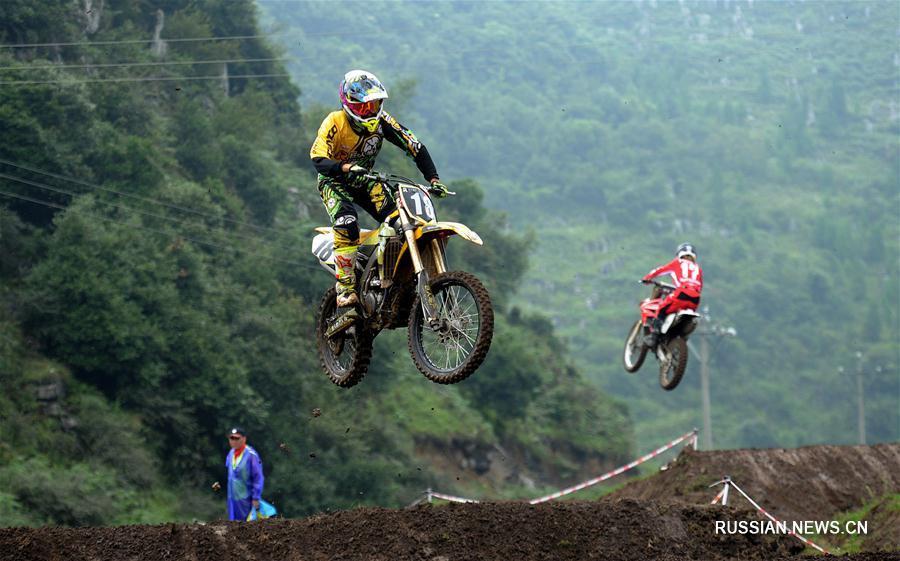 Мотоспорт -- Чемпионат Китая по мотокроссу, этап в Шуйчэне: обзор соревнований