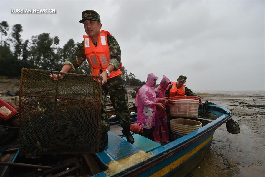 "Тайфун ""Меги"" угрожает провинции Фуцзянь"