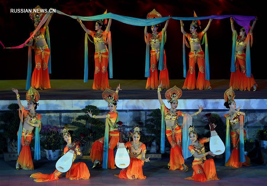 В Кайфэне открылся 34-й Культурный фестиваль хризантем