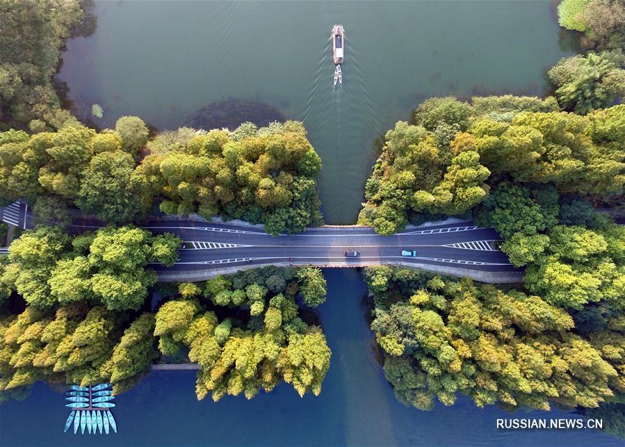 Осень над озером Сиху