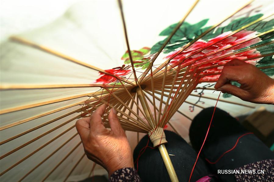 Японские зонтики своими руками 924