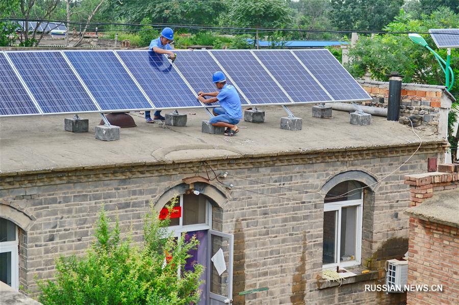 Развитие солнечной энергетики в Китае вышло на новый виток