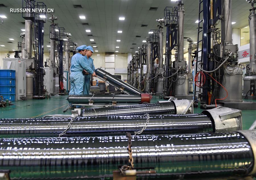 В феврале индекс PMI в производственном секторе Китая составил 51,6 проц