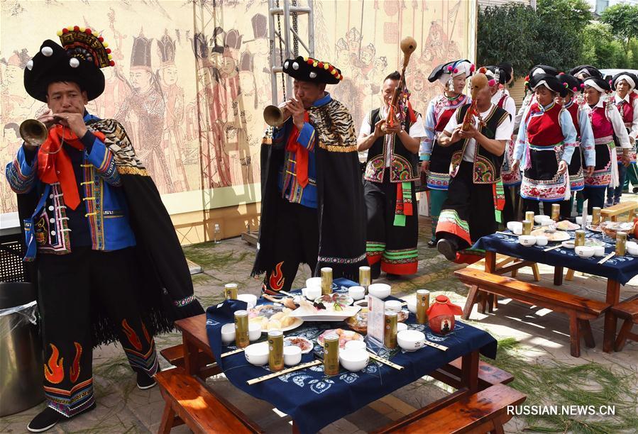В Дали открылся 7-й Фестиваль вэйшаньских закусок