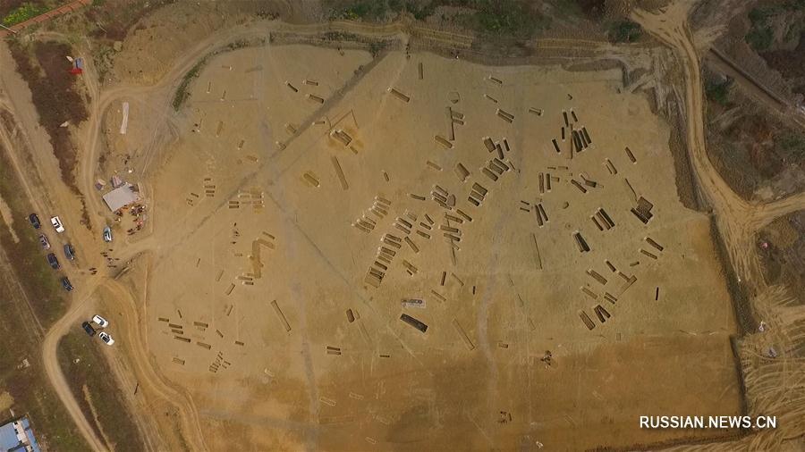 В Чэнду обнаружено древнее кладбище с большим количеством бронзовых предметов