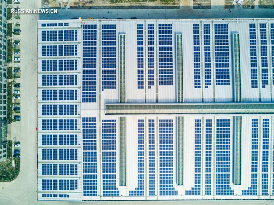 Развитие солнечной энергетики в уезде Дэхун провинции Чжэцзян