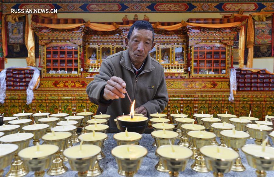 Дом престарелых в Тибетском АР