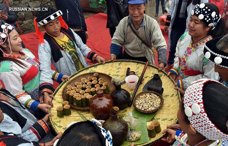 Праздник народности лэмо в провинции Юньнань