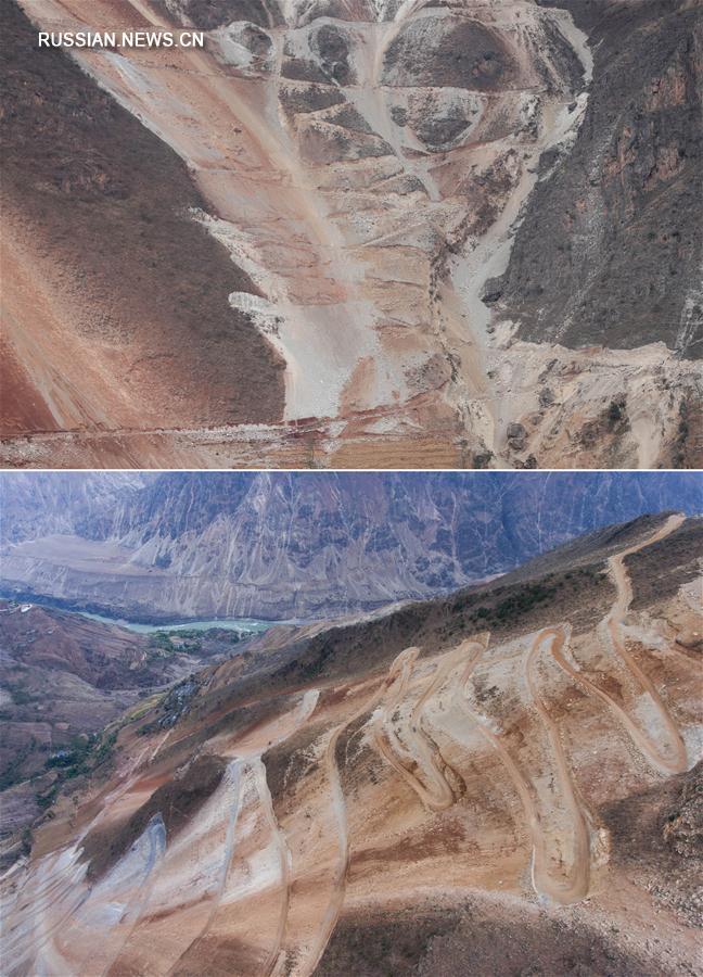 Дневник строительства горной дороги в провинции Сычуань