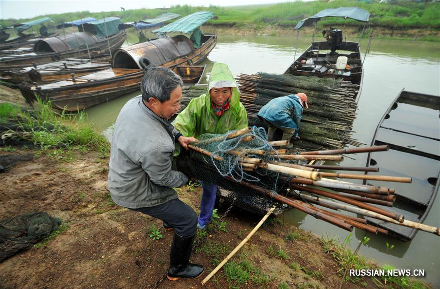 На крупнейшем в Китае пресноводном озере вводится трехмесячный запрет на отлов рыбы