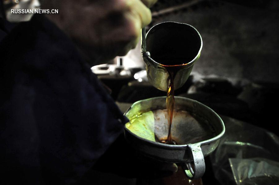 Изготовление знаменитого цинминского вина из волости Датанпин