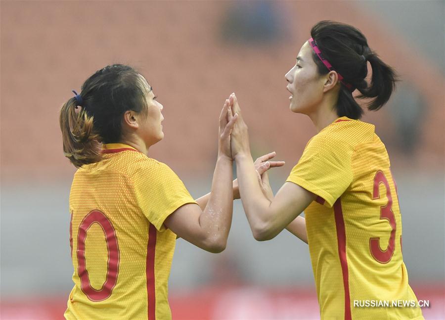 Футбол -- Женская сборная Китая в товарищеском матче победила хорваток