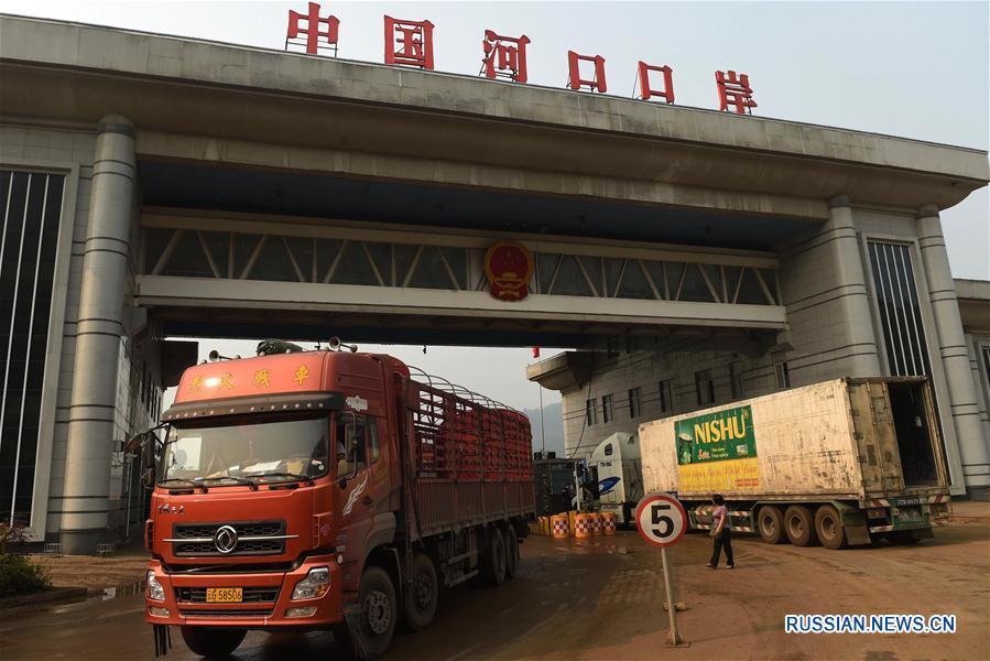 Китай и Вьетнам активно развивают приграничную торговлю