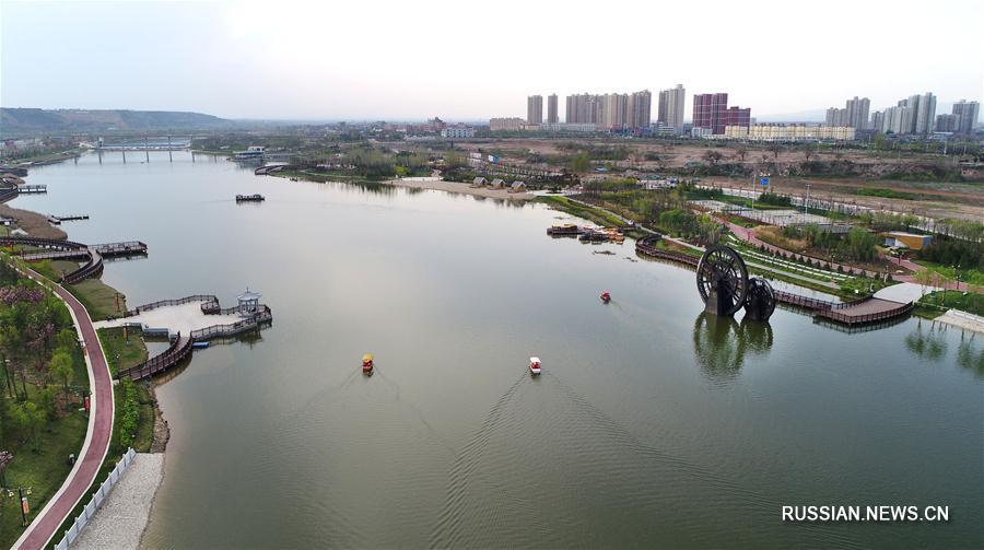 В уезде Фупин реализуется проект по комплексному обустройству реки Шичуаньхэ