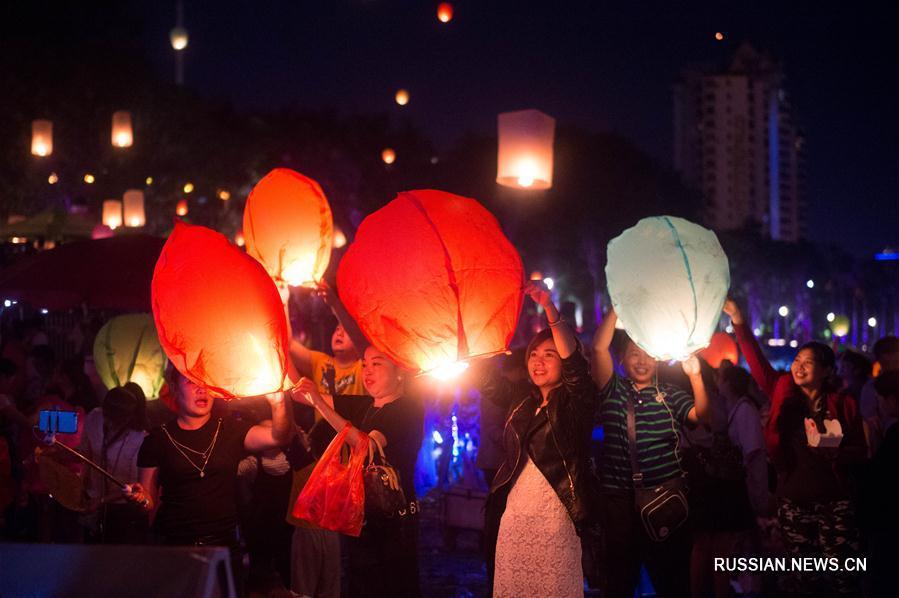 В Сишуанбаньна празднуют дайский Новый год
