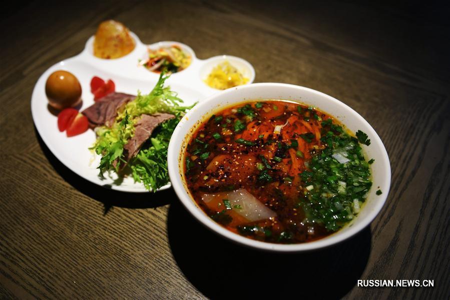 Чашка говяжьей лапши как визитная карточка Ланьчжоу
