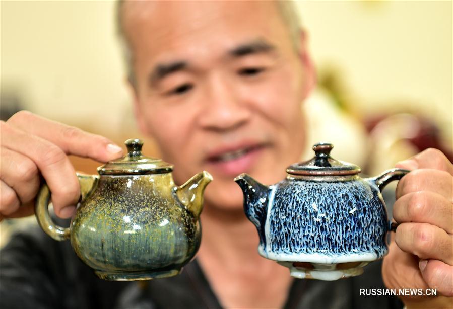 Уникальная керамика из красной глины от тайваньского мастера