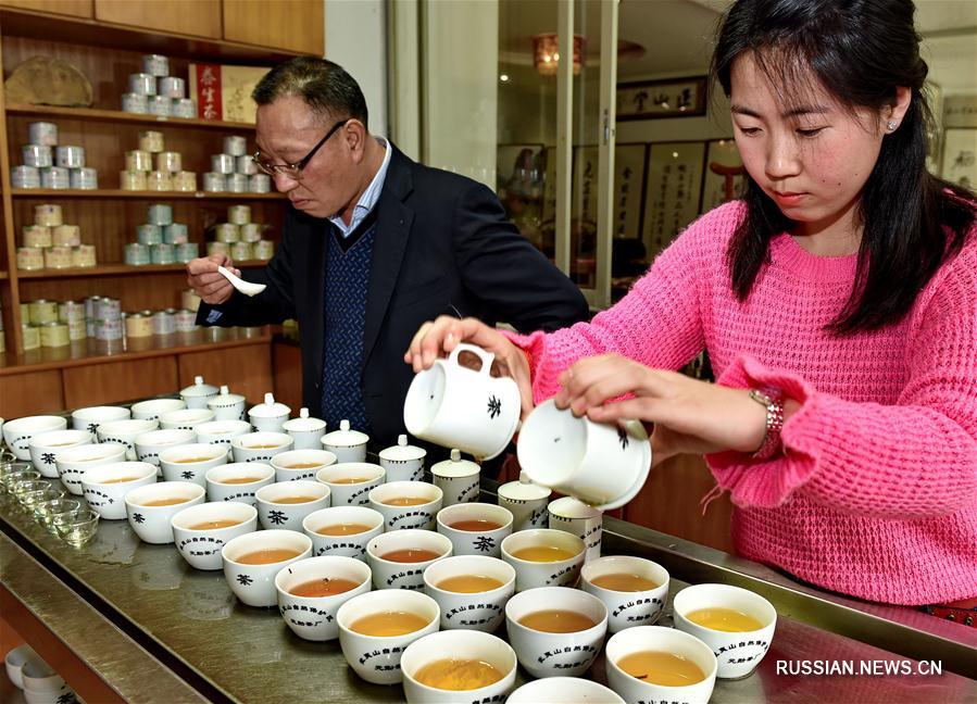"""Секреты производства красного чая """"Цзиньцзюньмэй"""""""