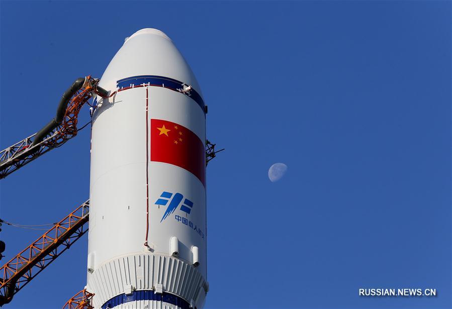 """Китай осуществит запуск грузового корабля """"Тяньчжоу-1"""" с 20 по 24 апреля"""