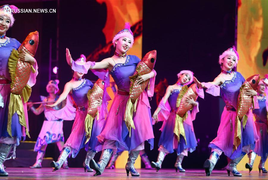 В Тяньцзине прошло показательное выступление традиционного китайского искусства и  культуры
