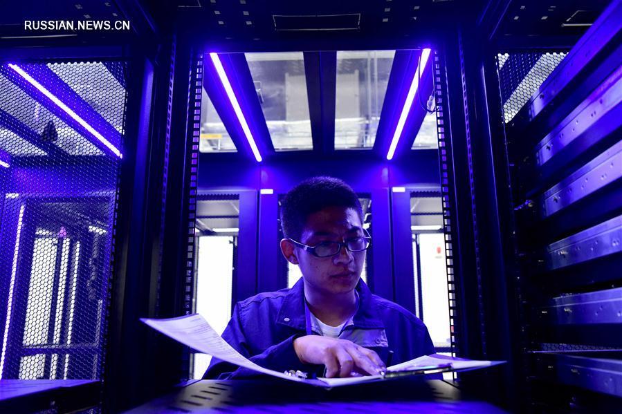 Вычислительный центр ChinaMainCloud открылся в провинции Хэнань