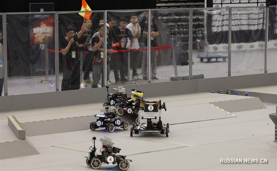 В Шанхае стартовал региональный этап Всекитайского конкурса робототехники для студентов