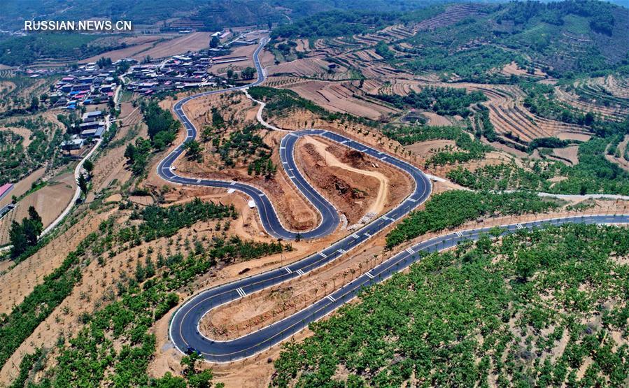 В Циньхуандао построена кольцевая туристическая дорога вдоль Великой китайской стены