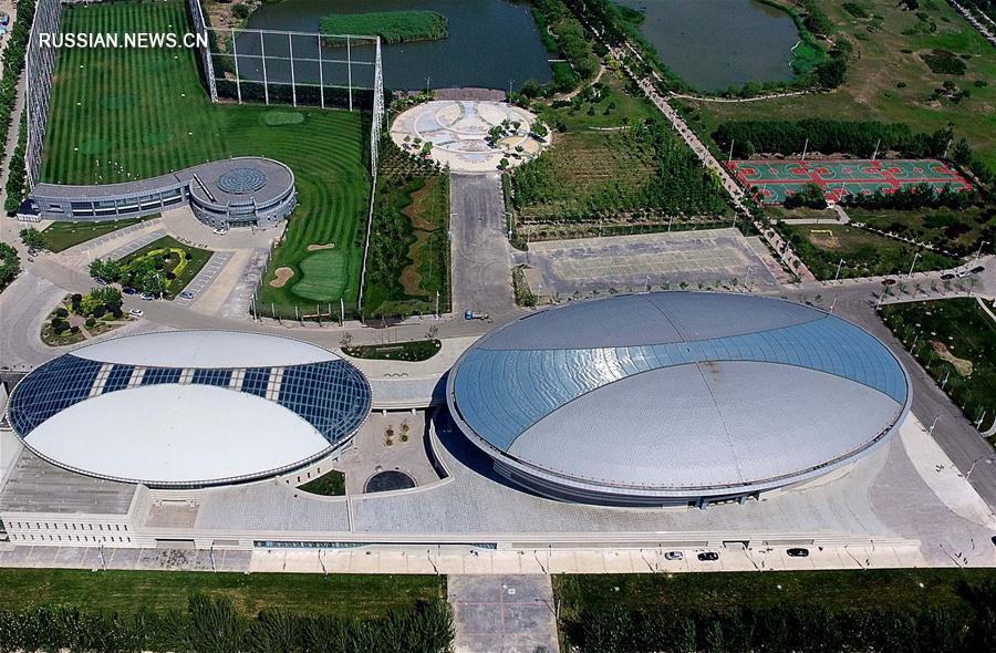 Арены 13-х Всекитайских игр в Тяньцзине -- Дворец спорта Тяньцзиньского коммерческого университета