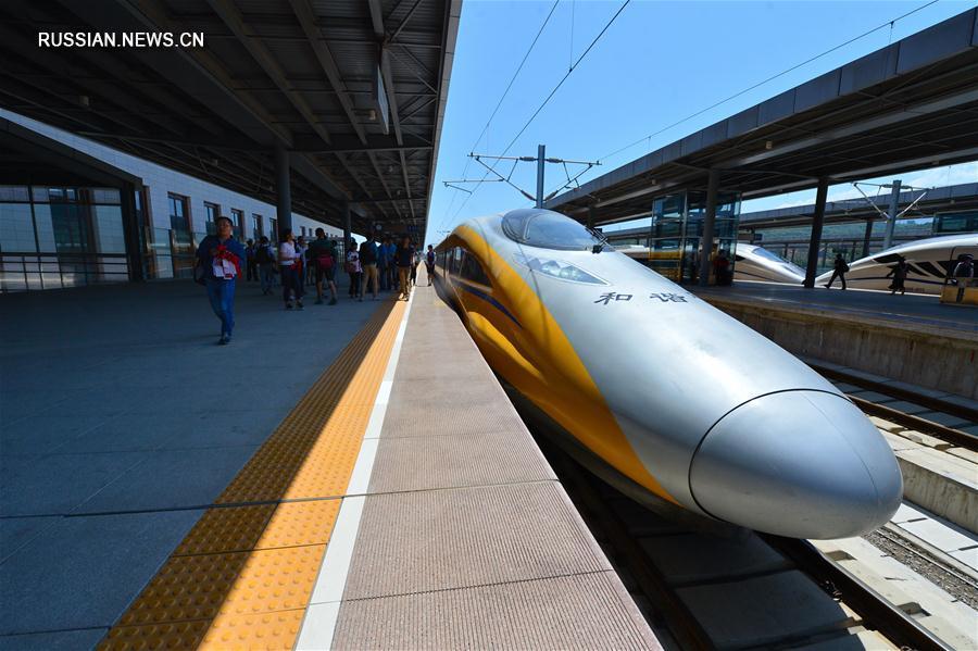 Скоростная железная дорога Баоцзи -- Ланьчжоу готовится к открытию