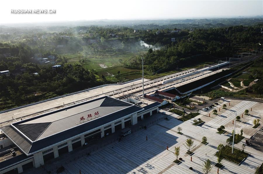 Железная дорога Ланьчжоу -- Чунцин готовится к пуску в эксплуатацию