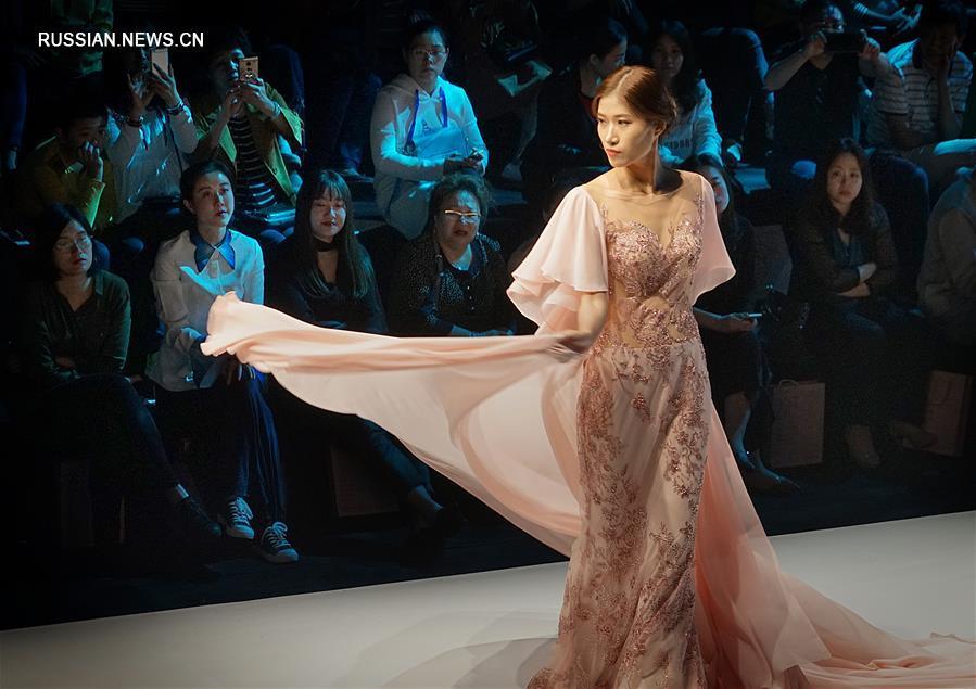 Китайская международная неделя свадебных и вечерних платьев 2017 в Чаочжоу