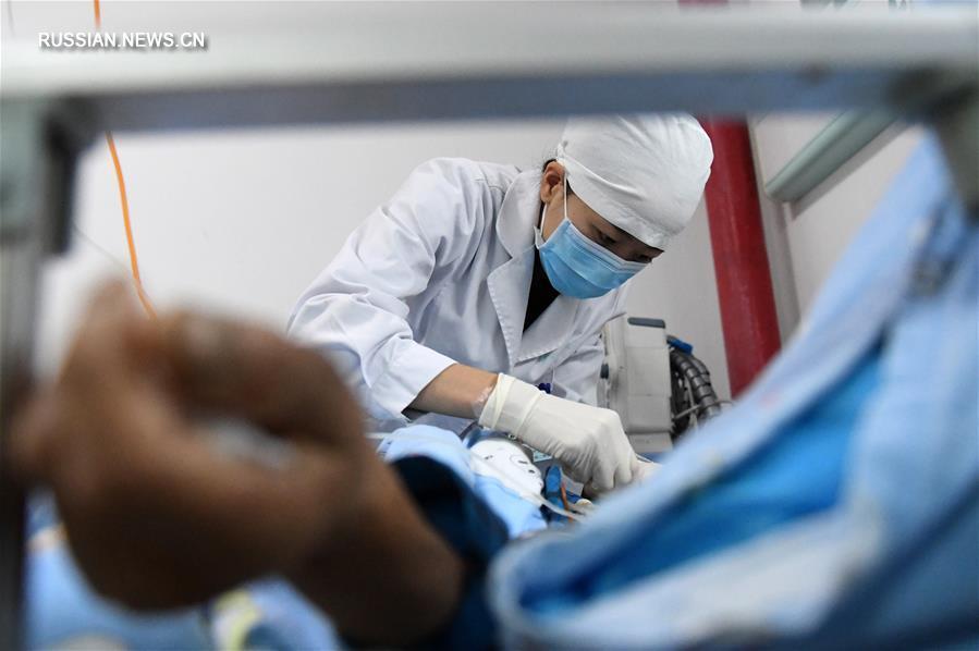 """Китай заявил о практически """"нулевом показателе"""" случаев инфицирования ВИЧ при переливании  крови"""