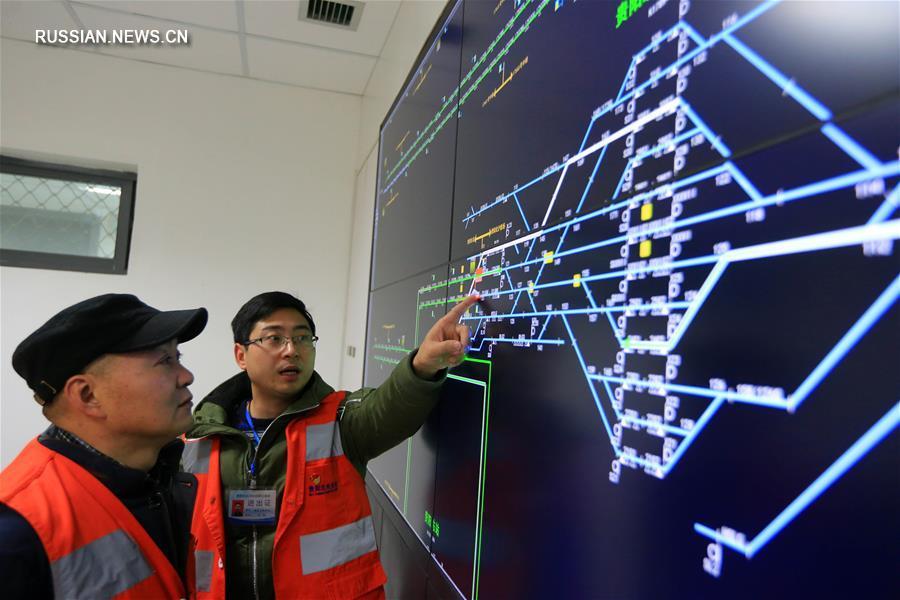 Железная дорога Чунцин - Гуйян на этапе эксплуатационного испытания
