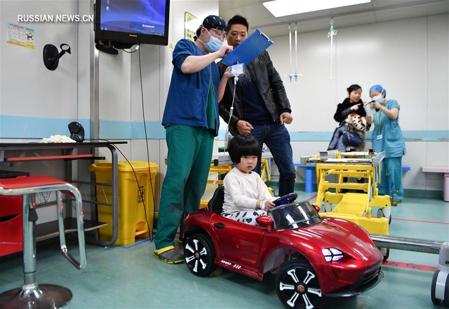 В операционную на игрушечном автомобиле