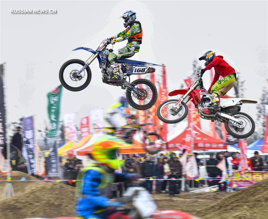 Мотоспорт -- Чемпионат Китая по мотокроссу 2018, этап в Бочжоу: обзор соревнований