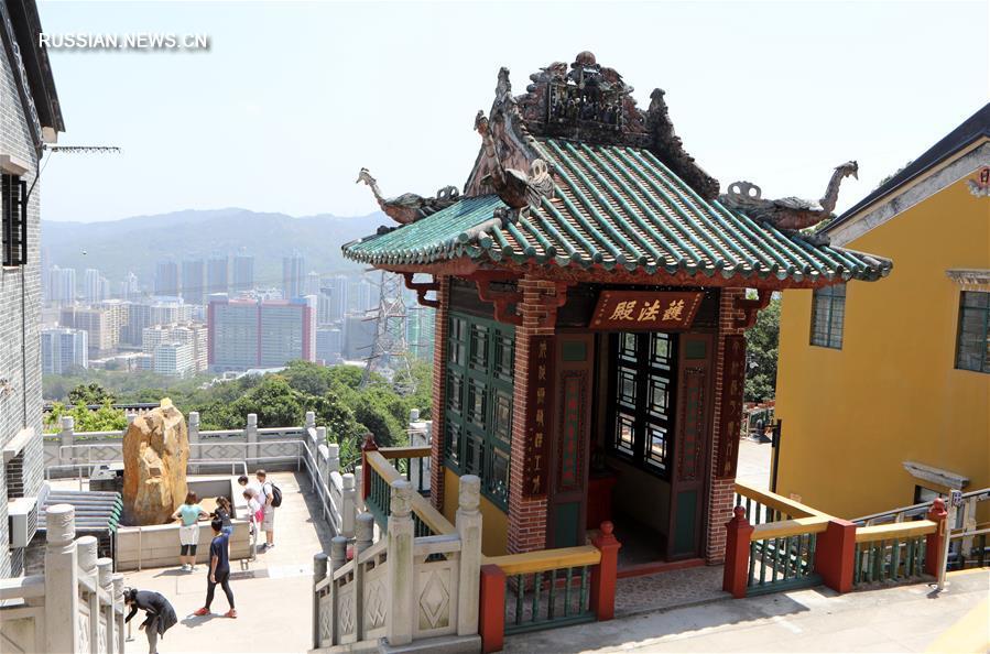 Циньшанский монастырь -- буддийский монастырь Сянгана с тысячелетней историей