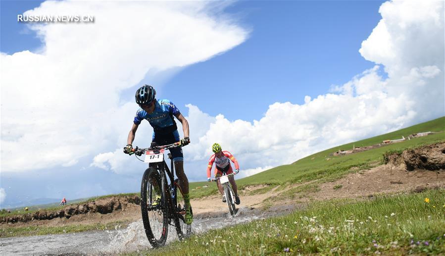 """Велосипедные гонки """"Чудеса Тибета-2018"""" на северо-западе Китая"""