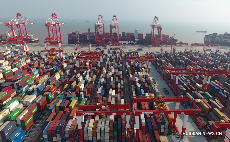 Яншань -- глубоководный порт близ Шанхая