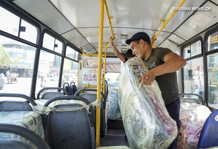 Развитие трансграничной торговли в городском уезде Хоргос