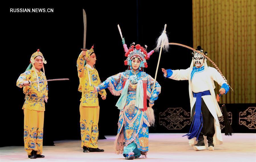 Пекинская опера в провинции Хэбэй