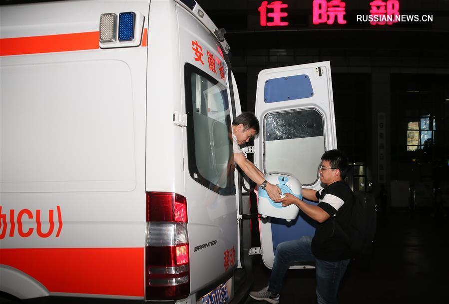 Донорские органы из Тибетского АР помогли четырем людям из Восточного и Юго-Западного Китая