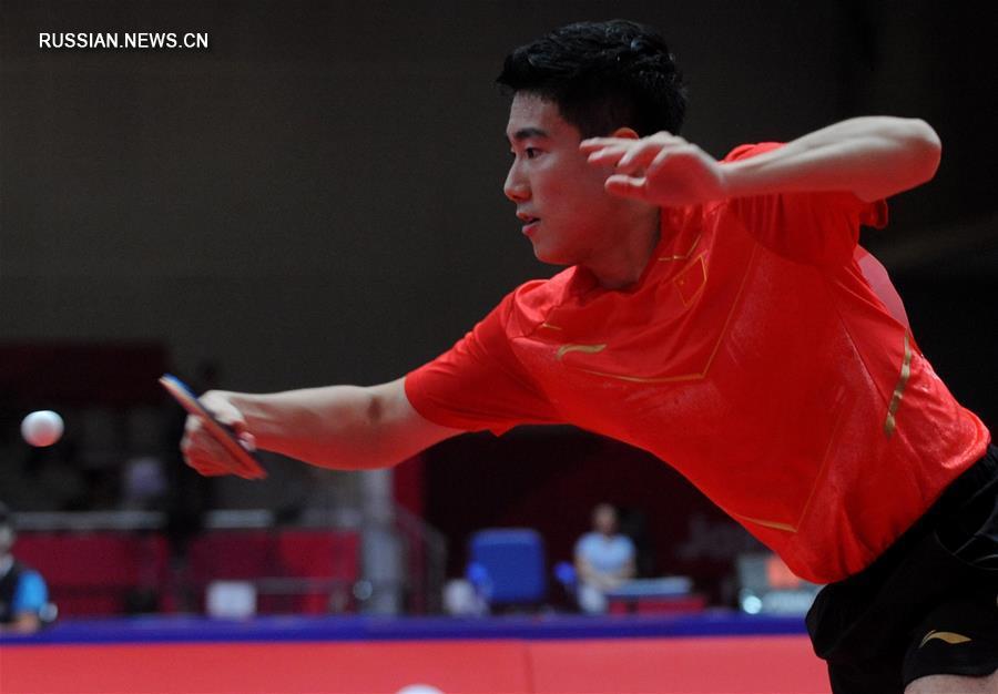 Мужская сборная КНР по настольному теннису вошла в четверку сильнейших на 18-х Азиатских играх