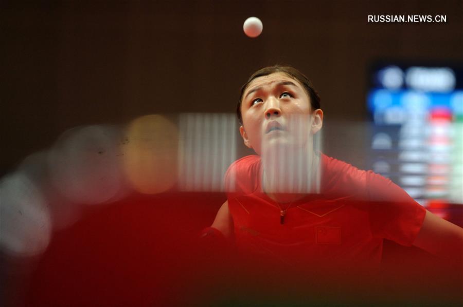 Женская сборная КНР по настольному теннису вошла в четверку сильнейших на 18-х Азиатских играх
