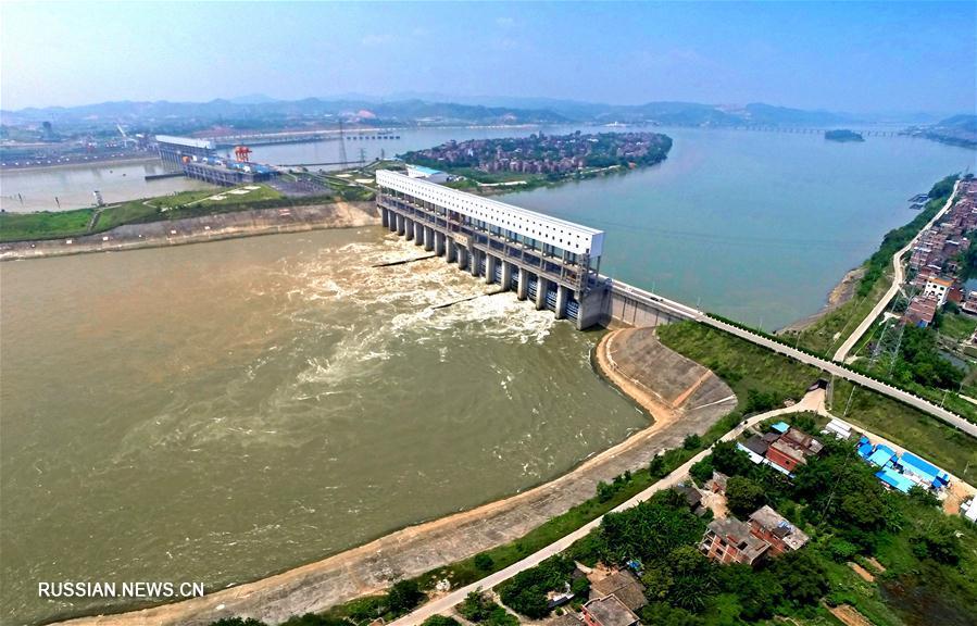 Развитие транспорта на реке Сицзян на юго-западе Китая